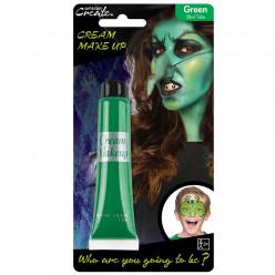 Pintura facial Verde 28ml Halloween