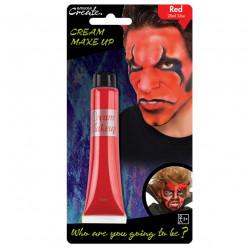 Pintura facial Vermelha 28ml Halloween