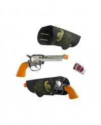 Pistolas e coldres cowboy
