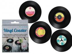 Porta Copos  discos Vintage