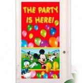 Poster porta fiesta Mickey
