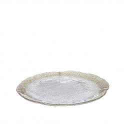 Prato Decorativo em Vidro Fizz