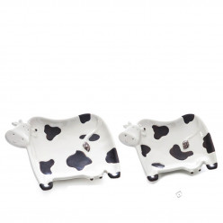Prato em Cerâmica  Vaca