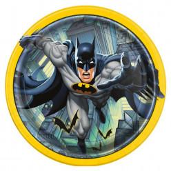 Pratos 22cm Batman 8 unid