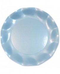 Pratos Azul Pérola 21cm 10uni