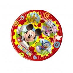 Pratos Descartáveis Mickey Mouse 20cm 8und
