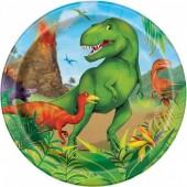 Pratos Dinossauros 18cm – 8 Und