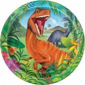 Pratos Dinossauros 23cm – 8 Und