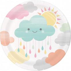 Pratos Pequenos Nuvem 8und