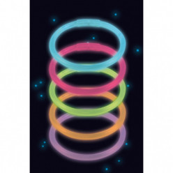 Pulseiras Luminosas Fancy Glow 10 uni