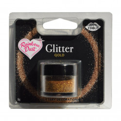 Purpurinas Comestíveis Glitter Gold RD
