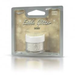 Purpurinas Comestíveis Glitter Ivory RD