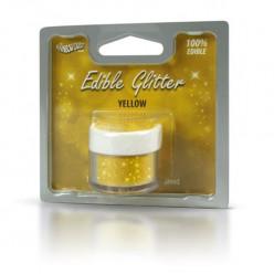 Purpurinas Comestíveis Glitter Yellow RD