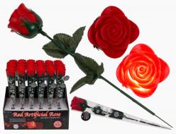 Rosa com Luz Led Dia dos Namorados