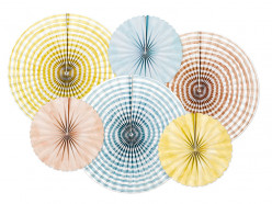 Rosetas Decorativas Papel Summer Time