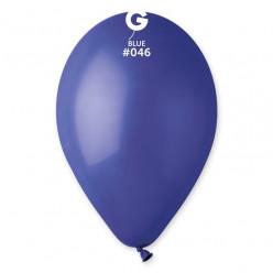 """Saco 100 Balões Azul Escuro 10"""" (26cm)"""