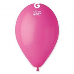"""Saco 100 Balões Fúscia 10"""" (26cm)"""
