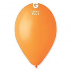 """Saco 100 Balões Laranja 10"""" (26cm)"""
