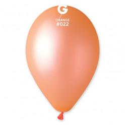 Saco 100 Balões Neon Laranja 12 (30cm)