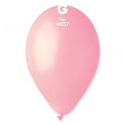 """Saco 100 Balões Rosa Claro 12"""" (30cm)"""