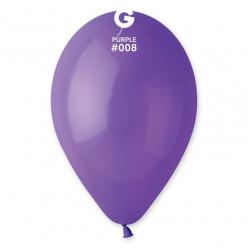 """Saco 100 Balões Roxo 10"""" (26cm)"""