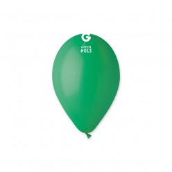 """Saco 100 Balões Verde Esmeralda 12"""" (30cm)"""