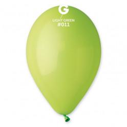 """Saco 100 Balões Verde Lima 10"""" (26cm)"""