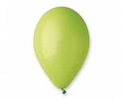 """Saco 100 Balões Verde Pistachio 12"""" (30cm)"""