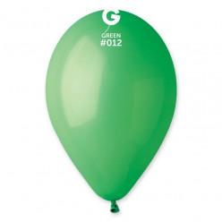 """Saco 100 Balões Verdes 10"""" (26cm)"""