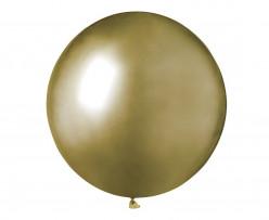 Saco 25 Balões Ouro Brilhante 19 (48cm)