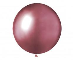 Saco 25 Balões Rosa Brilhante 19 (48cm)