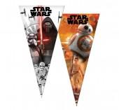Saco Cone Brinde Star Wars 20x40cm