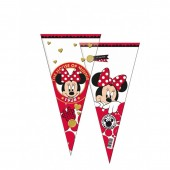 Saco Cone Brindes Disney Minnie Gold