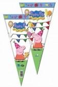 Saco cone brindes Porquinha Peppa