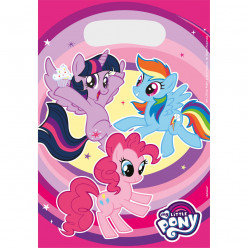 Sacos festa My Little Pony 8 uni