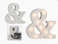 Símbolo & Luminoso com Leds