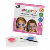 Snazaroo Kit Pintura Facial Borboletas - 10 Faces