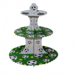 Stand Cupcakes 3 Andares Futebol