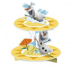 Suporte Cupcake Olaf Summer