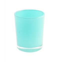 Suporte Velas Azul Turquesa