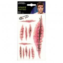 Tatuagens Cicatrizes Halloween