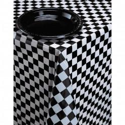 Toalha Mesa Plástica Xadrez