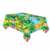 Toalha Plástica 1.8m x 1.2m – Animais da Selva