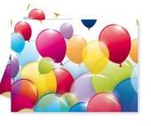 Toalha Plástica Festa - Balloon Party