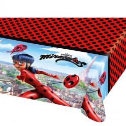Toalha Plástico Mesa Ladybug
