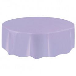 Toalha redonda lavanda