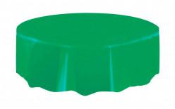 Toalha Verde Esmeralda Redonda