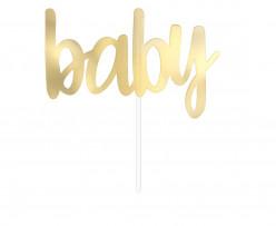 Topper Baby Dourado