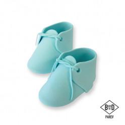 Topper Bolo Sapatos Bebé Azul PME 2 uni