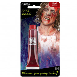 Tubo 28ml Sangue Falso Halloween
